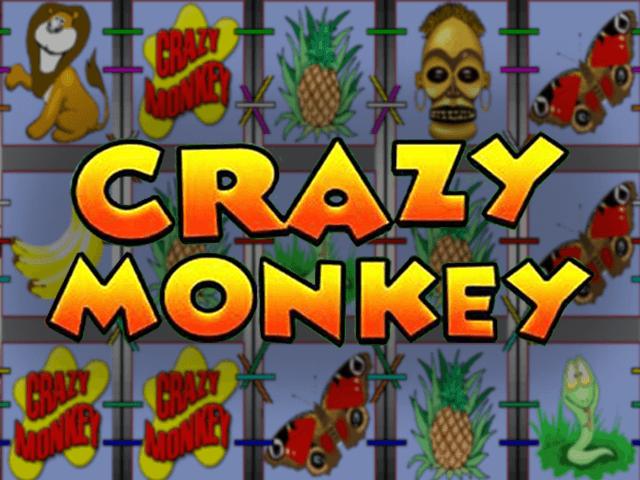 Онлайн автомат Crazy Monkey(Обезьянки) в зале Вулкан