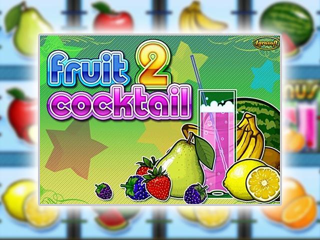 Слот автомат Fruit Cocktail 2 для платной игры в Вулкане