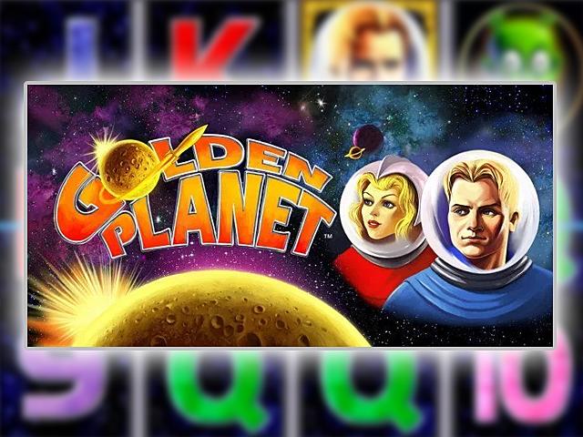 Игровой аппарат Golden Planet (Золотая Планета) — космос онлайн
